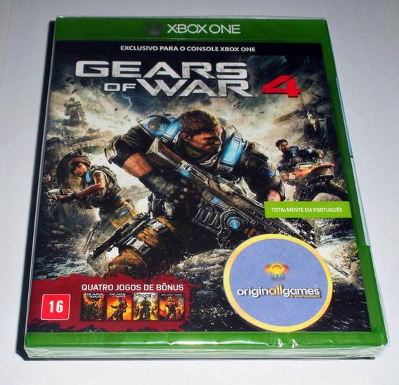 Gears Of War 4 ¦ Jogo Xbox One Original Lacrado ¦ M Física