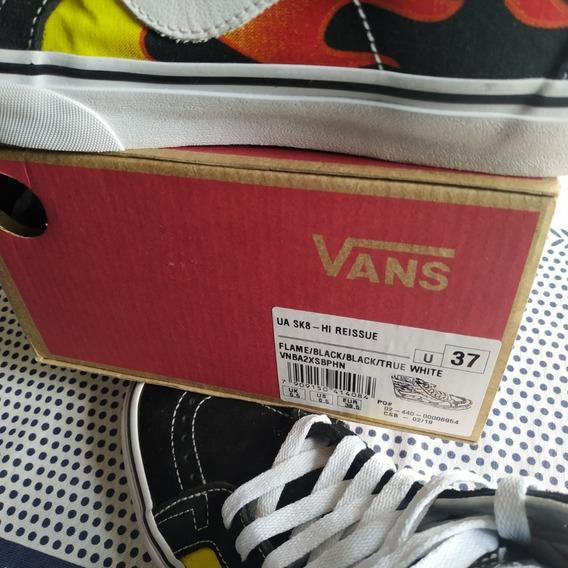 Tênis Vans - Sk8 Hi Ressue - Flame - Original - 37