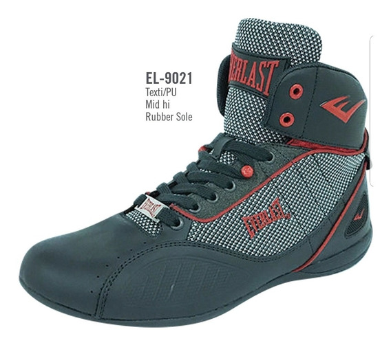 Tenis De Boxeo Everlast Punch 1 Oxford Rojo