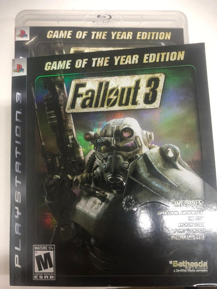 Fallout 3: Game Of The Year Edition - Ps3 Novo