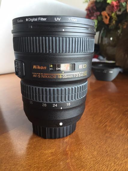Lente Nikkor Af-s 18-35mm F/ 3.5-4.5g Ed