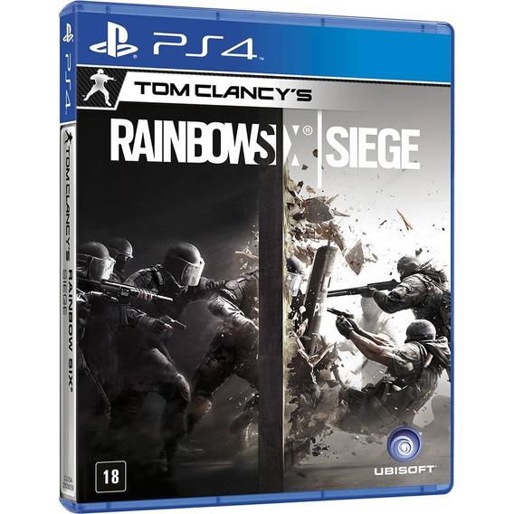 Jogo Tom Clancys Rainbow Six: Siege Ps4 - Ubisoft