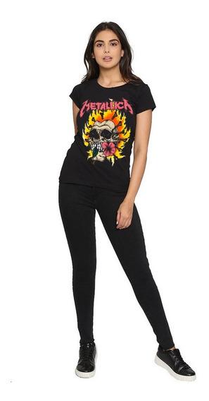 Blusa Playera Camiseta Toxic Corte Laser Metallica Negro