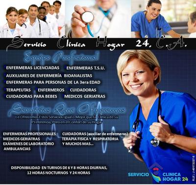 Enfermera Enfermero Cuidadora Enfermeria A Domicilio En Casa