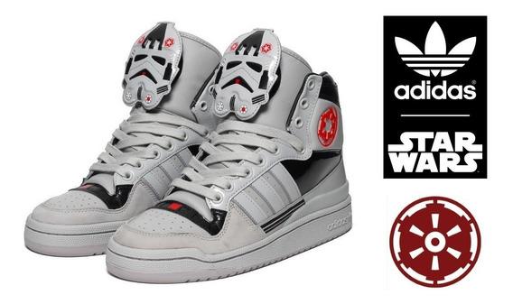 Tênis Sneaker Bota adidas Star Wars El Dorado Stormtrooper.