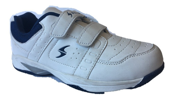 Calzado Colegial Diportto Unisex Con Velcro 30118