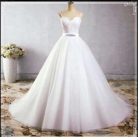 Vestido De Novia Princesa Blanco
