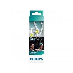 Fone De Ouvido Philips Shq1400lf/00 Esportivo 3 Em 1 Branco