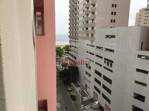 Apartamento À Venda, 59 M² Por R$ 385.000,00 - Boqueirão - Santos/sp - Ap0488