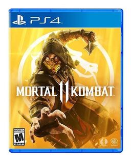 Mortal Kombat 11 Ps4. Español Latino Físico Envio Gratis