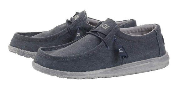 Zonazero Zapatillas Zapato Hey Dude Wally Hombre