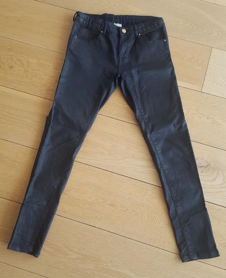 pantalones engomados zara
