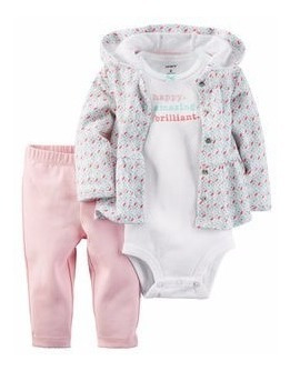 Conjunto Carters Inverno Bebes Meninas
