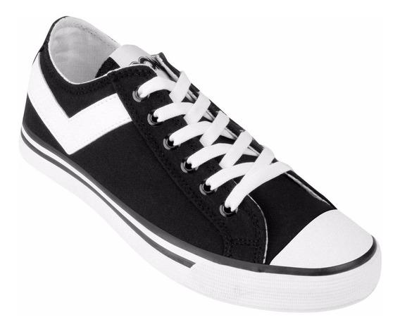 Zapatillas Pony Moda Urbanas Envíos Liquidación Negras/bco