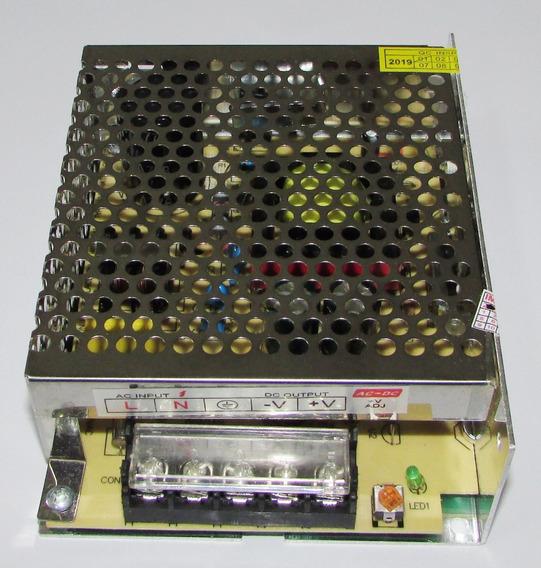 Fonte De Alimentação 24v 3a 72w Automação Industrial Luxe-p