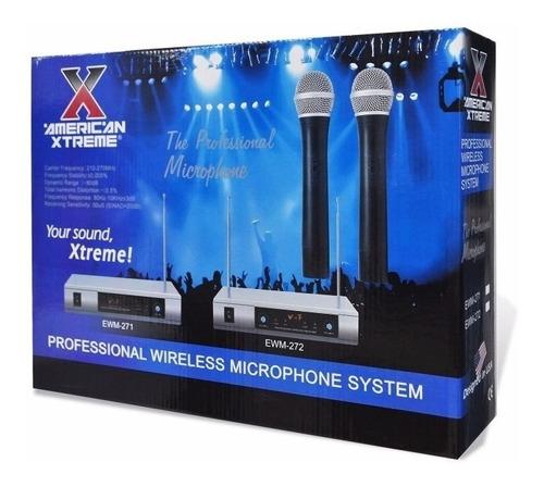 Microfono Inalambrico Profesional Vhf (uno)