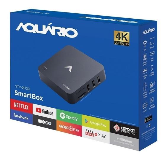Smart Tv Box Aquário - Stv-2000 Homologado - Anatel - Hdmi