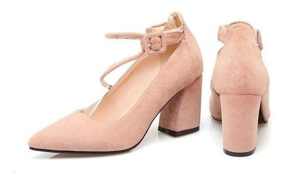 Sapato Feminino Asumer 00839 Importado Frete Grátis