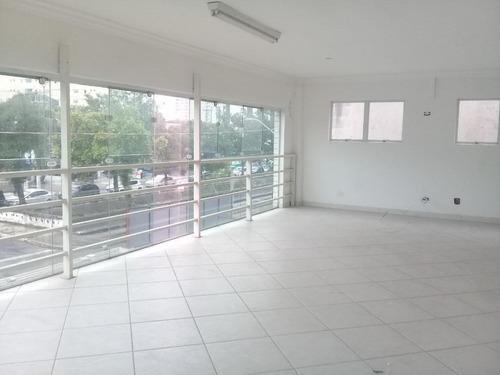Andar Corporativo Comercial Para Alugar, 246 M² Por R$ 10.000/mês - Vila Belmiro - Santos/sp - Ac0009