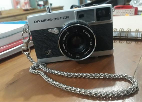 Camera Analógica Olympus 35-ecr
