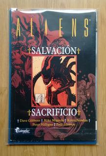 Aliens Salvación + Sacrificio Mignola Gibbons Milligan