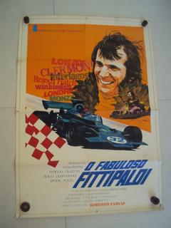 Cartaz Fabuloso Fittipaldi Anos 70 Poster Fotografia Foto 50