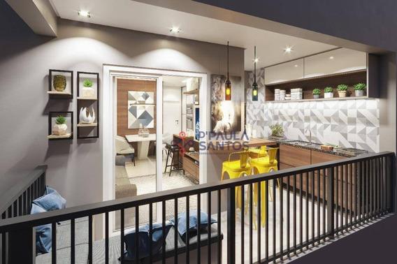 Apartamento Com 2 Dormitórios À Venda, 44 M² Por R$ 189.981,00 - Vila Carmosina - São Paulo/sp - Ap0246