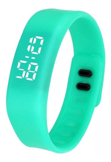 Promoção 5 Pulseiras Bracelete Led Digital + Frete Grátis
