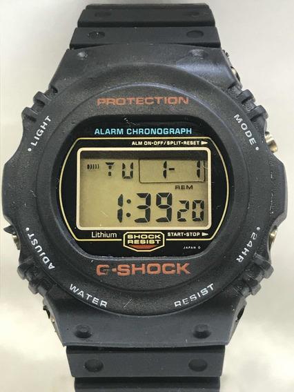 Relógio Casio G Shock Dw 5700 1987 901 S Ouro Relogiodovovô.
