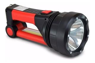 Linterna Solar Premium Recargable Carga Celular Velador