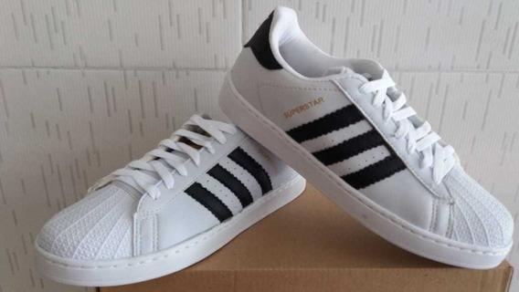 Tênis adidas Superstar Branco.