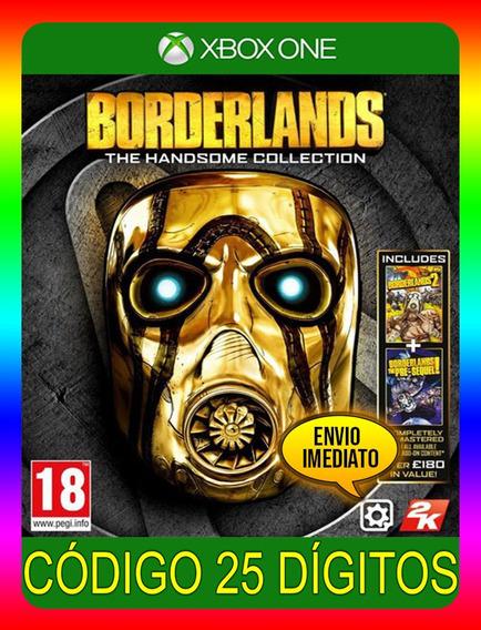 Borderlands The Handsome Xbox One - 25 Dígitos (envio Já)