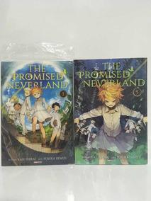 The Promised Neverland 1 Ao 5 Mangás Novos E Lacrados Panini