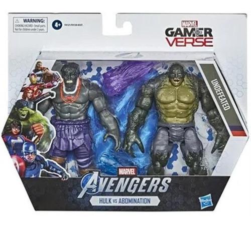 Avengers Hulk Vs Abomination Marvel Gamer Verse Hasbro