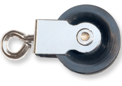 Imagen 1 de 6 de 12 Roldanas 25mm Tender Tendedero Polea Pasteca Soga 3 A 5mm