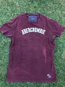 Playera Abrrcrombie & Fitch Original Logo Bordado