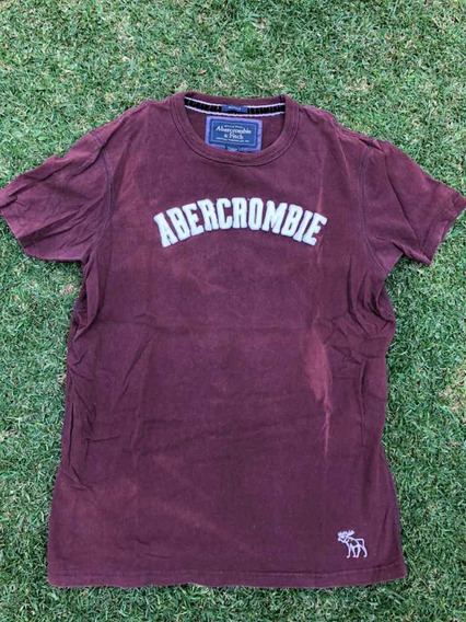 Playera Abercrombie & Fitch Original Logo Bordado