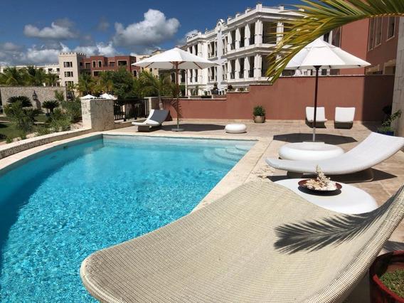 Venta Y Renta De Apartamento Con Piscina Privada En Cap Canaen