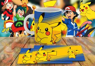 15 Plantillas Sublimación Tazas - Pokemon #3