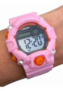 Reloj Tressa Telma Digital Sumergible Novedad!!! Casa Tagger
