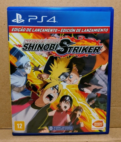 Naruto To Boruto Shinobi Striker Ps4 Midia Fisica - Seminovo