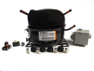 Compresor 1/3hp R12 Eff U100 Ak Ff U100 Ak Embraco