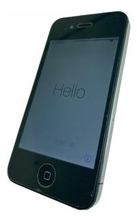 iPhone 4s Preto 16gb Funcionando Desbloqueado Icloud Zerado