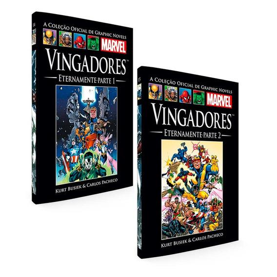 Graphic Novels Marvel Vingadores Eternamente 2 Volumes