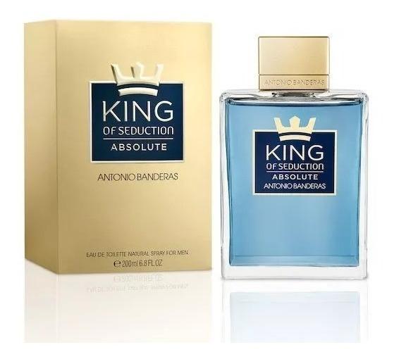 Perfume King Of Seduction Absolute 200ml Edt 12x Sem Juros.