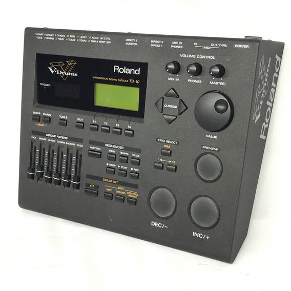 Módulo De Bateria Roland Td 10 V Drums - Fotos Reais
