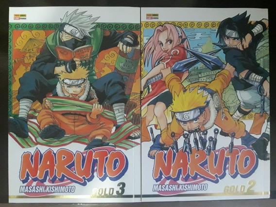 Naruto Gold Volumes 2 E 3 Juntos