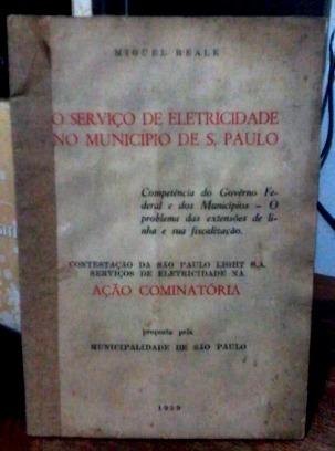 O Serviço De Eletricidade No Município De S. Paulo