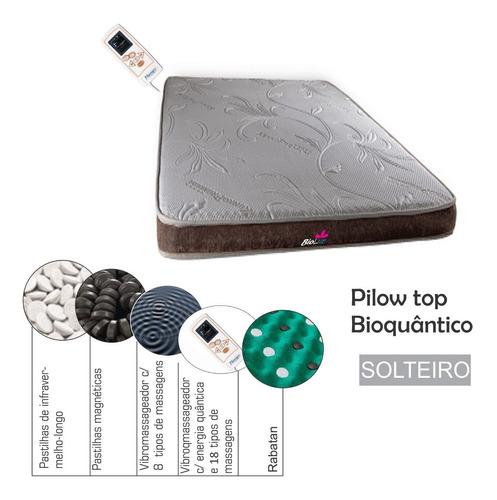 Imagem 1 de 3 de Colchonete Magnético Solteiro  Massageador Bioquântico