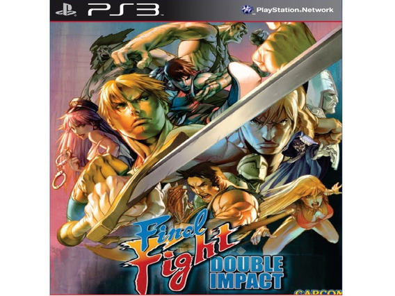 Final Fight Double Impact Ps3 Midia Digital Cod.psn Promoção